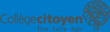 Collège citoyen logo
