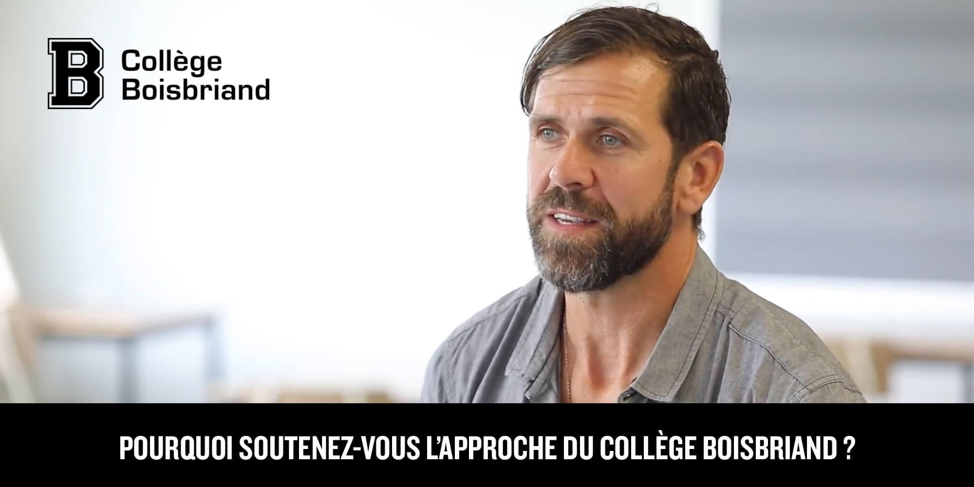 L'approche du collège Boisbriand